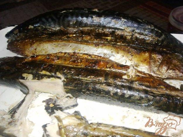 Рецепт Скумбрия гриль на мангале