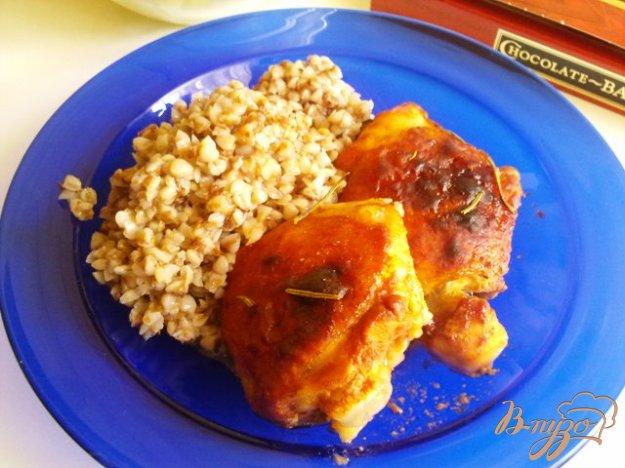 Рецепт Куриные бедра в маринаде