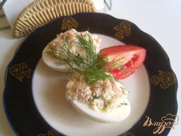 фото рецепта: Паста из сыра тофу и подкопченной форелью