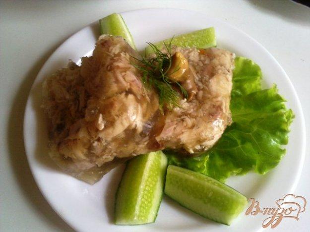 Рецепт Галантин из говядины и курицы
