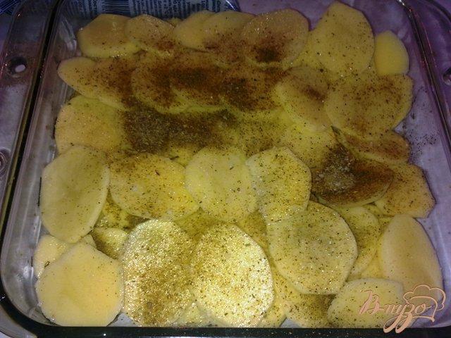 Фото приготовление рецепта: Картофельный гратен шаг №4