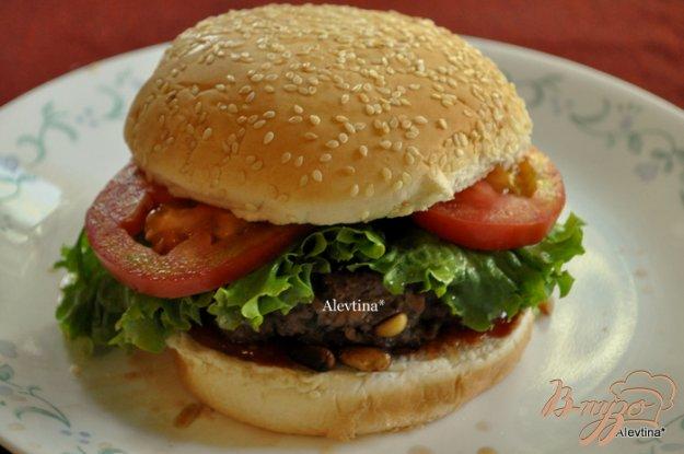 Рецепт Касабланка бургер