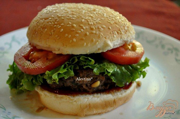 Фото приготовление рецепта: Касабланка бургер шаг №6