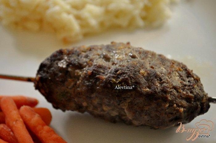 Фото приготовление рецепта: Кебаб говяжий шаг №3