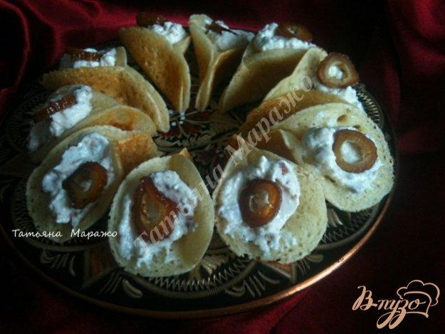 Рецепт Сирийские блинчики с рикоттой