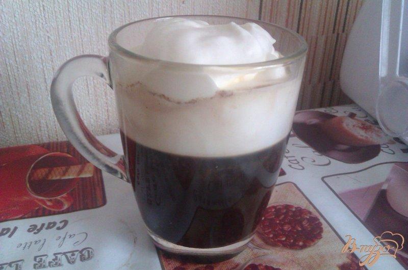 Фото приготовление рецепта: Кофе по-ирландски шаг №3