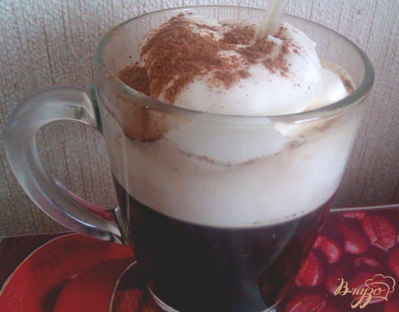 Фото приготовление рецепта: Кофе по-ирландски шаг №4