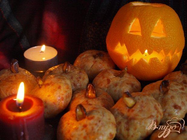 """Рецепт Печенье """"Тыквочки"""" для Хеллоуина"""