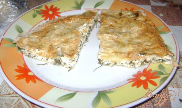 Рецепт Брынза в лаваше а-ля хачапури