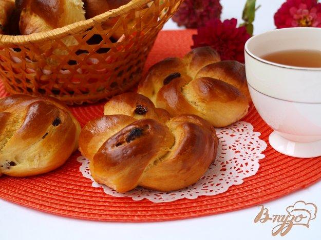 Рецепт Венские булочки с изюмом