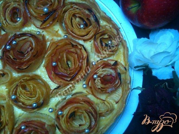"""Рецепт Пирог """"Яблочные розы"""""""
