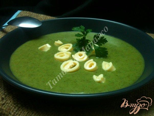 фото рецепта: Шпинатный суп с грушами