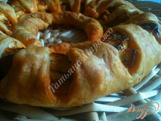 Рецепт Закусочная слойка