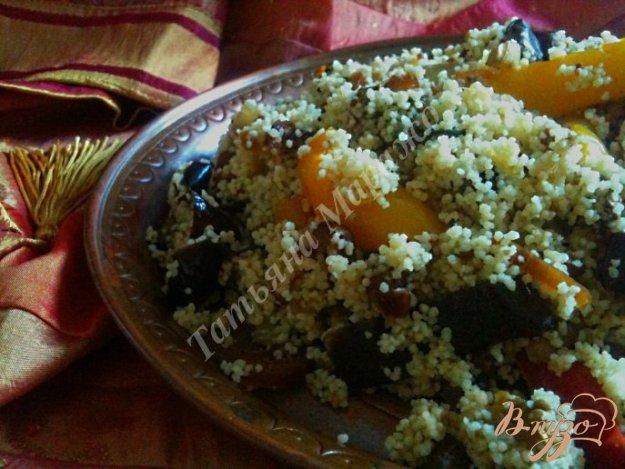 Рецепт Гарнир из запеченных овощей с крупой по-восточному