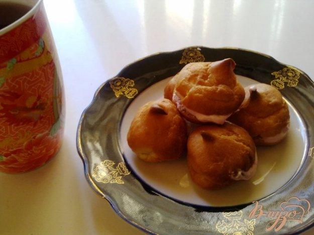 Рецепт Заварное печенье с творогом