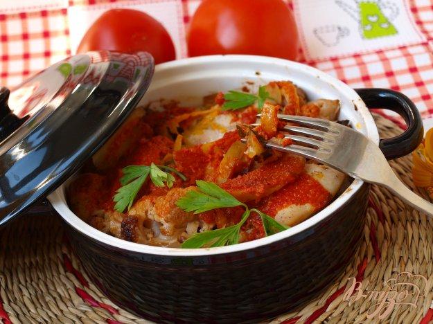 фото рецепта: Рагу из овощей с курицей