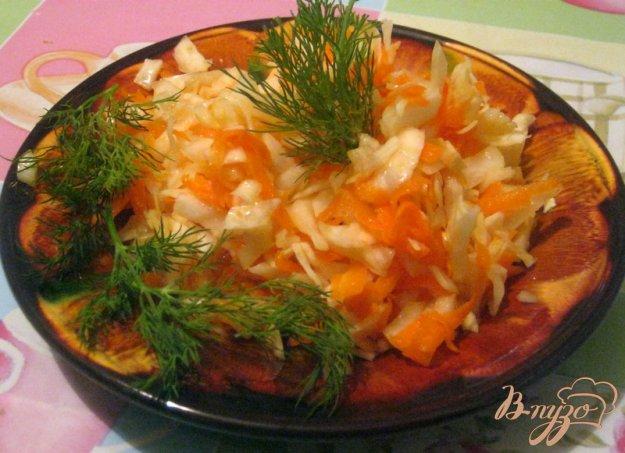 Рецепт Остренькая капуста домашнего приготовления