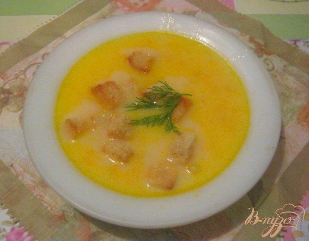 Рецепт Суп из плавленых сырков