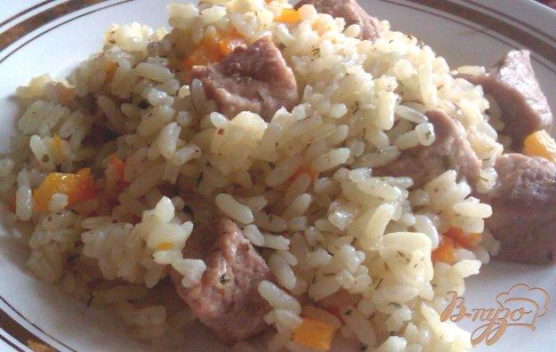 Рецепт Рис со свининой а-ля плов