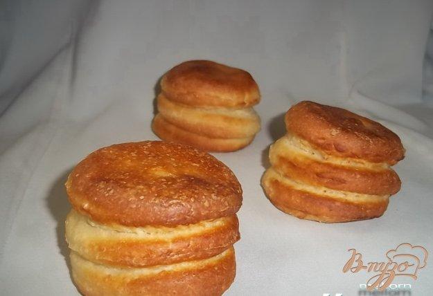Рецепт Слоеные рисовые булочки