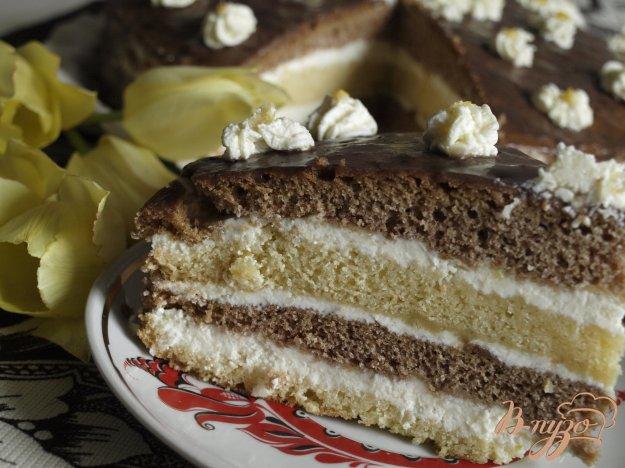 Чимний торт з лимонним кремом. Як приготувати з фото