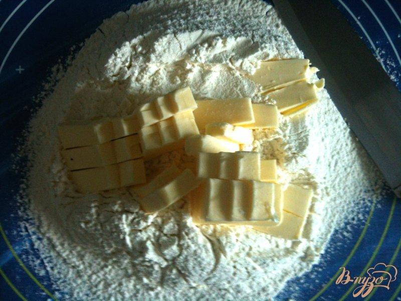 Фото приготовление рецепта: Рубленое тесто с сыром шаг №1
