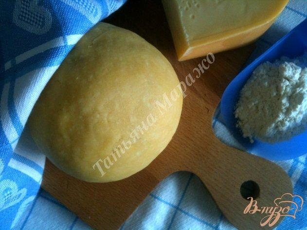 Фото приготовление рецепта: Рубленое тесто с сыром шаг №5