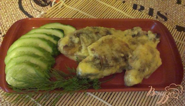 Рецепт Карасики в сметане