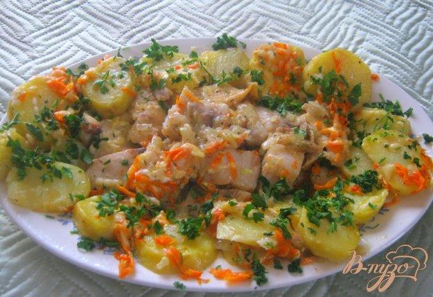 Рецепт Рыба, запеченная под майонезом