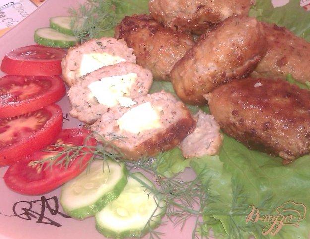 Рецепт Свиные зразы с яйцом и сыром