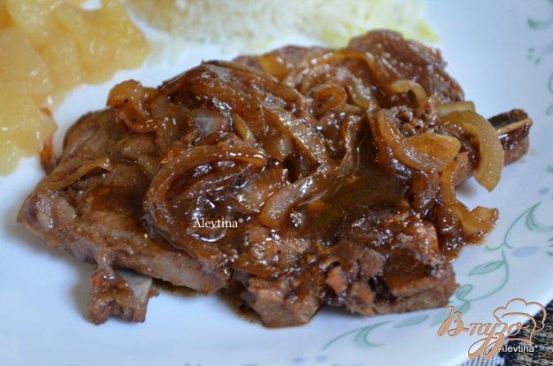 Рецепт Свиные отбивные с кленовым сиропом