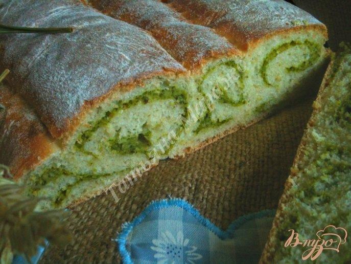 Овсяный хлеб со шпинатом