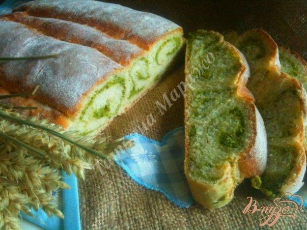 Рецепт Овсяный хлеб со шпинатом