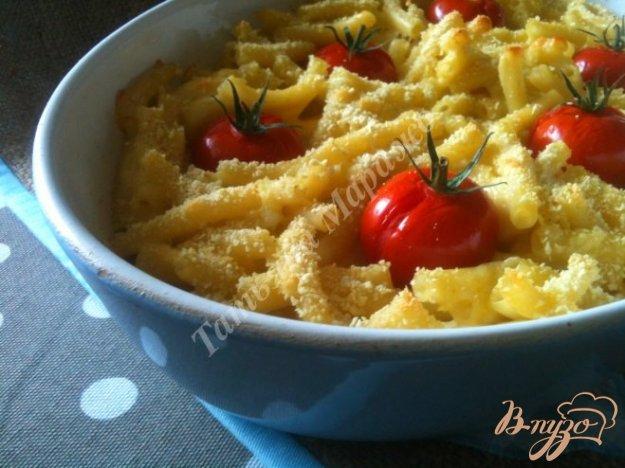 Рецепт Макаронная запеканка с сыром и томатами