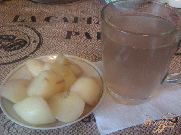 Рецепт Компот из инжирных персиков
