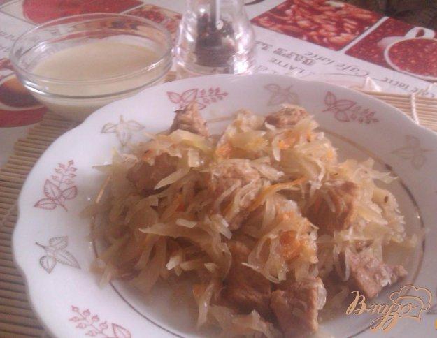 фото рецепта: Бигос со свининой