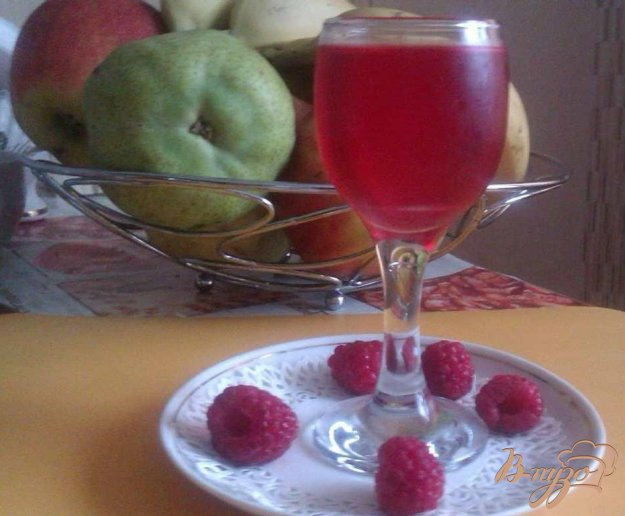 Рецепт Малиновый ликер