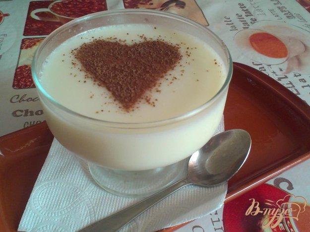 Рецепт Молочно-ванильное желе