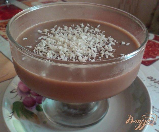 Желе какао рецепт фото