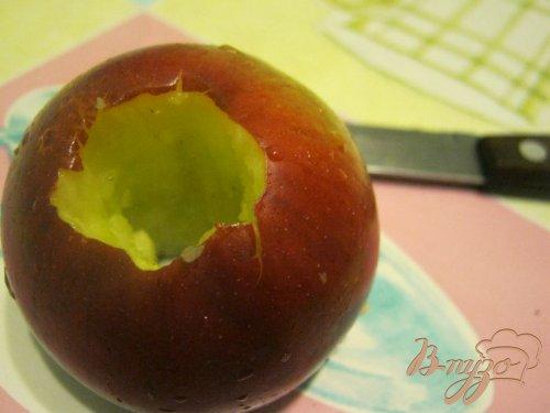 "Пирог ""Яблочки в шоколаде"""