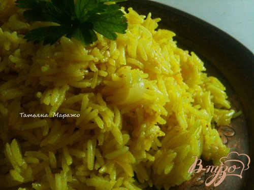 Рис с айвой (гарнир)