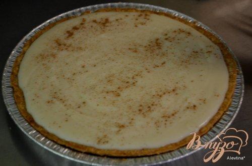 Амиш пирог с заварным кремом