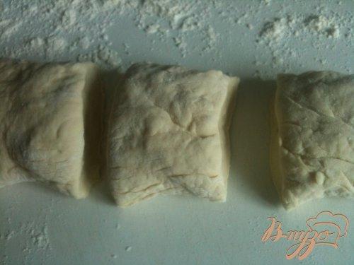 Рулетики с конфитюром из хлебного теста