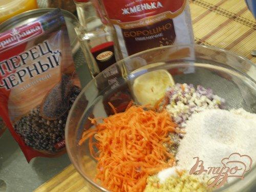 Морковно-нутовые котлеты с цельнозерновой мукой