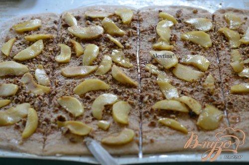 Яблочный карамельный фантанс