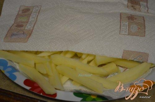 Хрустящий тонкий картофель из духовки