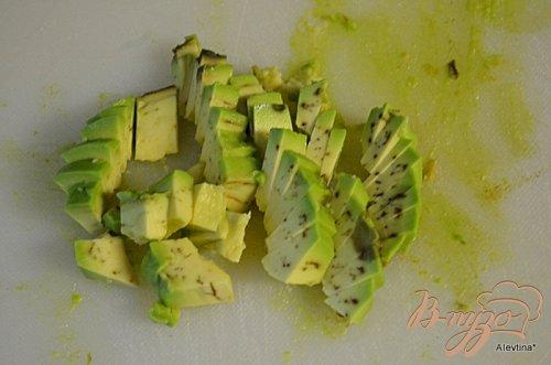 Суп охлажденный с авокадо