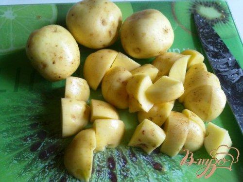 Овощное рагу с баклажанами и базиликом