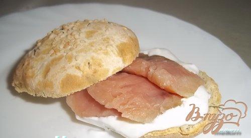 Укропные сконсы с соленой рыбкой
