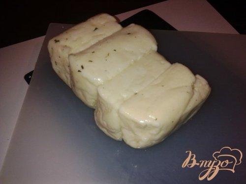 Тортилья с сыром халуми